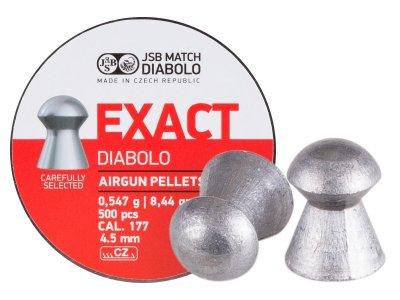 Пневматичні кулі JSB Diabolo Exact 500шт