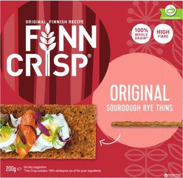 Сухарики Finn Crisp Original Taste ржаные цельнозерновые 200 г (6410500090014)
