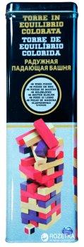 Гра настільна у бляшаній коробці Spin Master Games Дженга з кольоровими брусочками (SM98365/6033150)