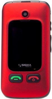 Мобільний телефон Sigma mobile Comfort 50 Shell Duo Black-Red