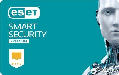 Антивірус ESET Smart Security Premium (1 ПК) ліцензія на 1 рік Продовження