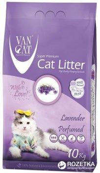 Наполнитель для кошачьего туалета Van Cat Super Premium Quality Lavender Бентонитовый комкующий 10 кг (12 л) (8699245856088/8699245857429)