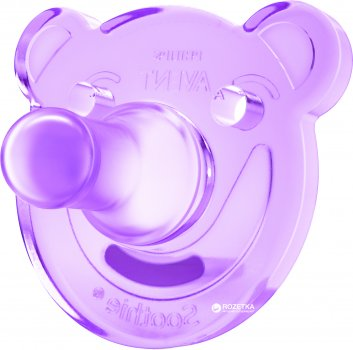 Пустышка Philips AVENT Super Soothie 3 мес+ 2 шт для девочек (SCF194/05)