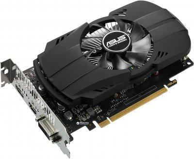 Asus PCI-Ex GeForce GTX 1050 Ti Phoenix 4GB GDDR5 (128bit) (1290/7008) (DVI, HDMI, DisplayPort) (PH-GTX1050TI-4G)