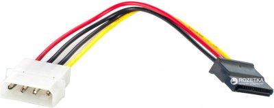 Кабель Patron SATA HDD (CC-SATA-PS) Molex - SATA 0.15 м (CAB-SATA-HDD)
