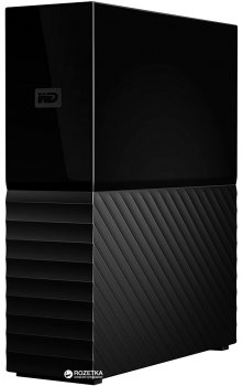 Жорсткий диск Western Digital My Book (New) 3TB WDBBGB0030HBK-EESN 3.5 USB 3.0 External
