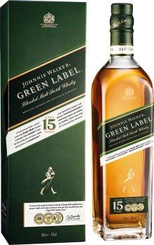 Виски Johnnie Walker Green label 15 лет выдержки 0.7 л 43% (5000267134710)