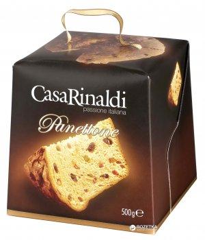 Кекс Casa Rinaldi Панеттоне с цукатами и изюмом 500 г (8006165403351)