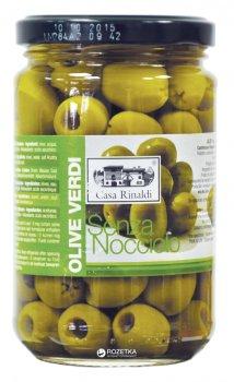 Оливки зеленые без косточки Casa Rinaldi 310 г (8006165388863)