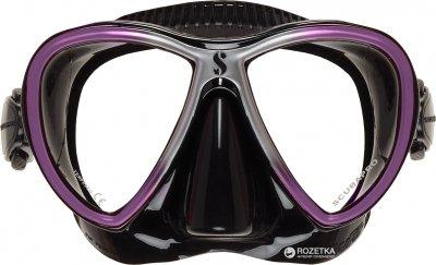 Маска Scubapro Synergy Twin Черно-фиолетовая (24.713.050)