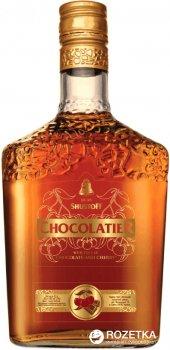 Коньячно-шоколадный алкогольный напитокШустов Chocolatier 3 года выдержки 0.5 л 30% (4820000944533)