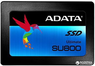 "ADATA Ultimate SU800 512GB 2.5"" SATA III 3D 3D V-NAND TLC (ASU800SS-512GT-C)"