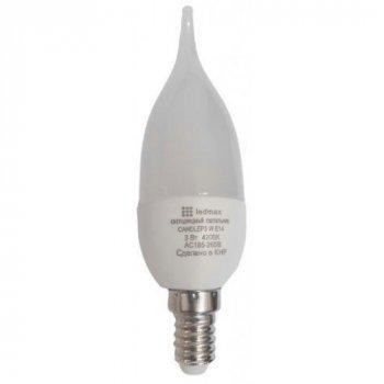 Лампа LED LEDMAX CANDLEP3 W E14 3Вт