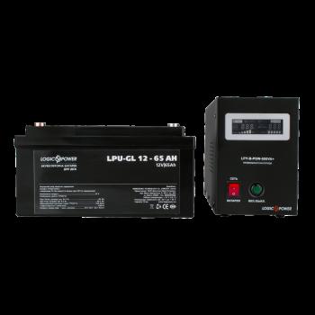 Комплекти для резервного живлення ДБЖ LPY-B-PSW-800VA+ з акумулятором гель 65 Ач