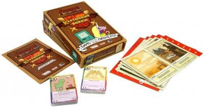 Настільна гра Hobby World Час пригод: Карткові війни Бімо проти Леді Ливнерог (4620011816597)