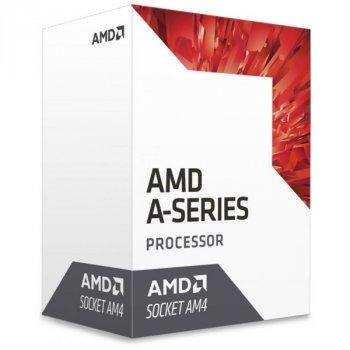 Процесор CPU AMD Bristol Ridge A6 2C/2T 9500 (3.5/3.8 GHz,1MB,65W) Radeon R7 Series (AD9500AGABBOX) AM4 BOX