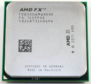 AMD FX-8300 X8 3.3-4.2 GHz (FD8300WMW8KHK) AM3+ - Б/У
