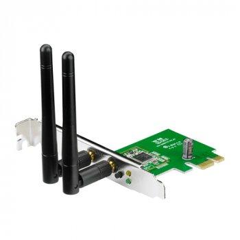 Беспроводной адаптер Asus PCE-N15 PCI-E, 802.11n, 300Mbps