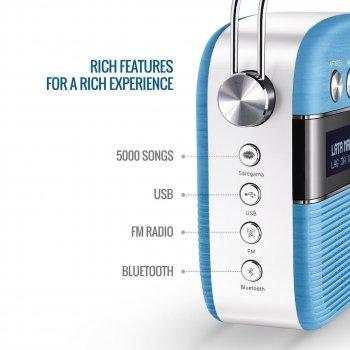 Колонка портативная A 13 акустика с USB SD Bluetooth FM радио