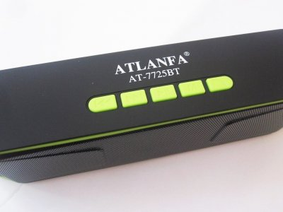 Колонка портативная A2DP MOD AT 7725 с USB SD Bluetooth FM радио