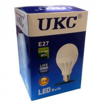 Світлодіодна LED лампа UKC Light Bulb E27 18W