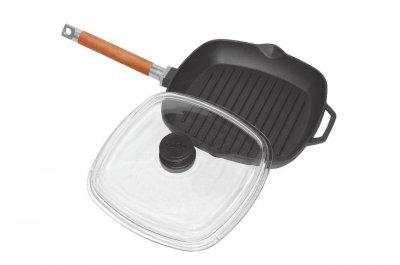 Сковорода-гриль Біол з кришкою (1026С)