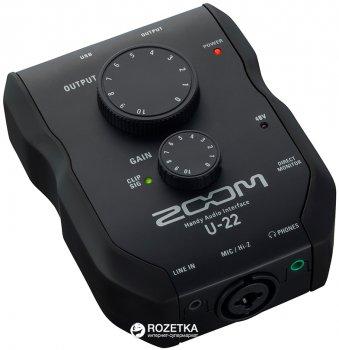 Аудіоінтерфейс Zoom U-22 USB (283 507)