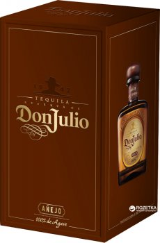 Текила Don Julio Anejo 0.7 л 38% (7506064300184)