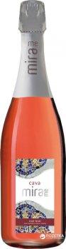 Вино ігристе Mirame Cava рожеве брют 0.75 л 11.5% (8426998267522_842699826758)