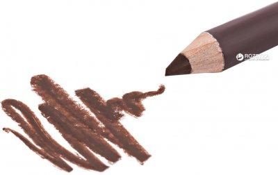 Олівець для брів зі стругачкою Kiss Wooden Pencil 6 г RBWP03 - Chocolate Brown (649674043038)