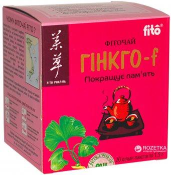 Чай Fito Гінкго БІЛОБА 20 шт. х 1,5 г (8934711018127_27268)