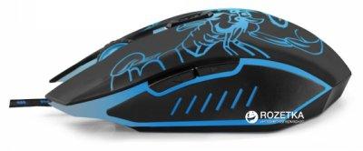 Миша Esperanza MX203 Scorpio USB Black/Blue (EGM203B)