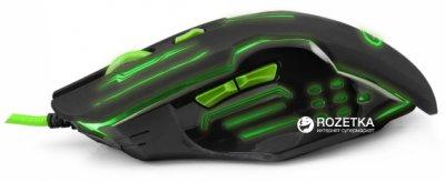 Миша Esperanza MX403 Apache USB Black/Green (EGM403G)