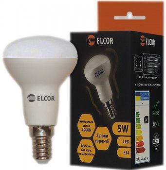 Світлодіодна лампа ELCOR LED R50 5W E14 4200K (EL-534323)