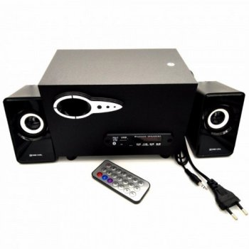 Комп'ютерні колонки акустика Zee-Cool ZC-215 Чорні