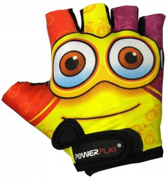 Велоперчатки детские PowerPlay 5473 Minion XS Yellow (5473Minion_XS_Yellow)