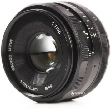 Meike 35mm f/1.7 MC E-mount для Sony (MKE3517)