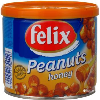Арахіс Felix у меду з/б 120 г (5900571700116)