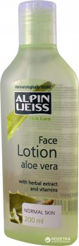 Лосьон для лица Alpin Weiss Aloe Vera 200 мл (4260198340876)