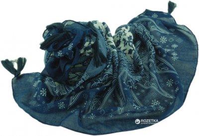 Шаль Trаum 2494-35 Синяя