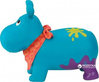 Стрибун Battat Гіпопотам-там-там з насосом Блакитний (BX1505Z)