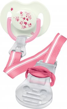 Кліпса Philips AVENT для пустушок Рожева (SCF185/00_pink)