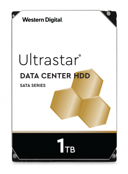"Жесткий диск Western Digital Ultrastar DC HA210 1TB 7200rpm 128MB HUS722T1TALA604_1W10001 3.5"" SATA III"