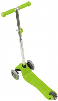 Самокат Globber Primo Lights 3 колеса с подсветкой до 50 кг 3+ Зеленый (423-106-3)