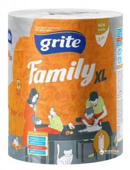 Паперові рушники Grite Family Jumbo XL 2 шари 250 відривів (4770023348613)
