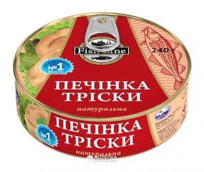 Печень трески Fish Line 230 г (4750162301298)