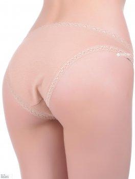 Трусики-танга Sloggi SLW 24/7 Cotton lace tanga Капучино
