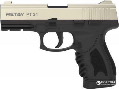 Стартовий пістолет Retay PT 24 9 мм Satin/Black (11950340)