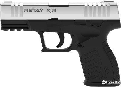 Стартовий пістолет Retay XR 9 мм Nickel/Black (11950343)