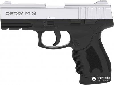 Стартовий пістолет Retay PT 24 9 мм Nickel/Black (11950339)